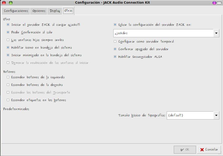 Configurando Jack. Fig 2