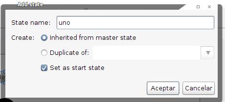 "Creando un ""estado"""