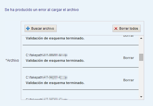 Componente fileUpload de RichFaces sin funcionar en Chrome 36