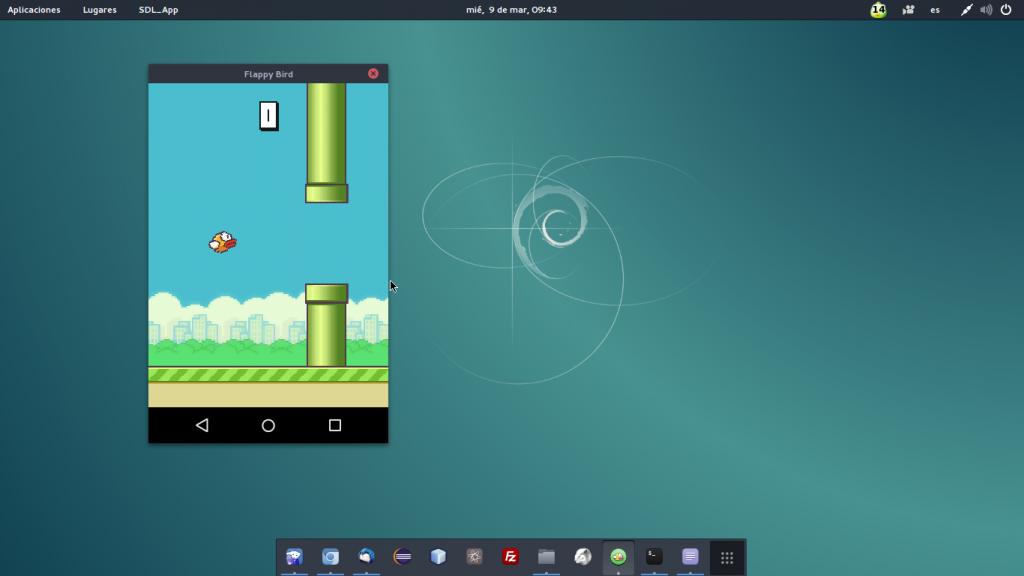 Ejecutando Flappy Bird con la ayuda de Shashlik